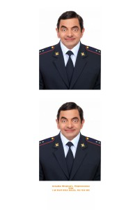 Подстановка формы полиции нового образца